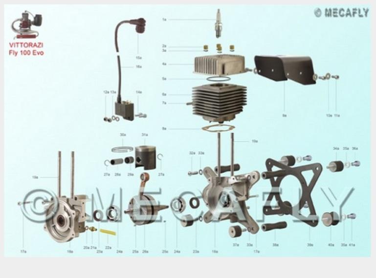 Paramotor parts Miniplane parts