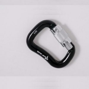 Carabiner 30 mm Aluminium Self-locking
