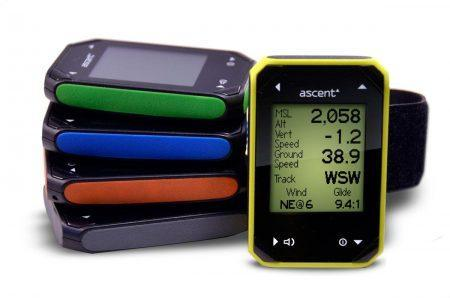 Ascent H2 variometer colors