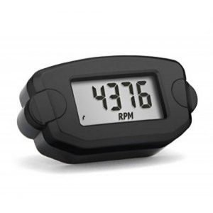 TTO Trail Tech Black Tachometer