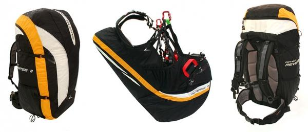 Paragliding gear, paragliding equipment, Swing, Connect Reverse 2