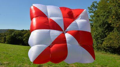 Supair reserve parachute FLUID