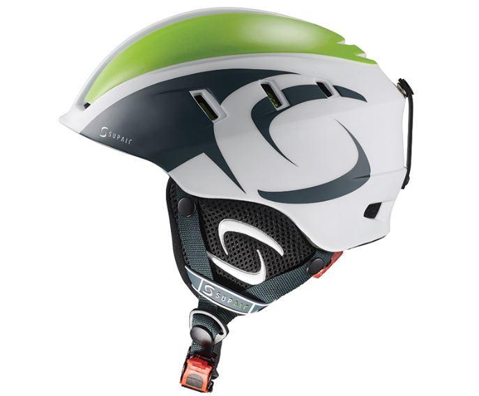 Supair Helmet white green