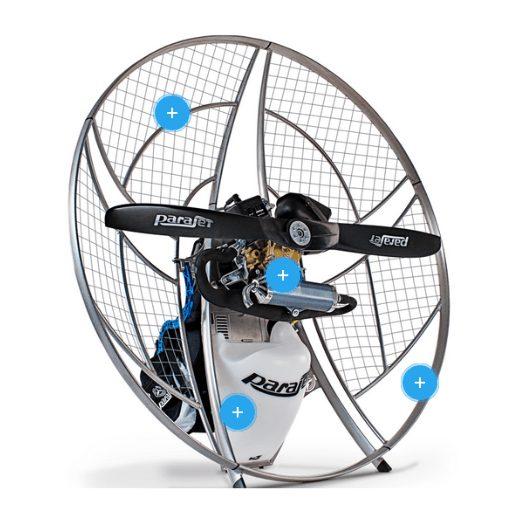 Paramotors Parajet Volution 3