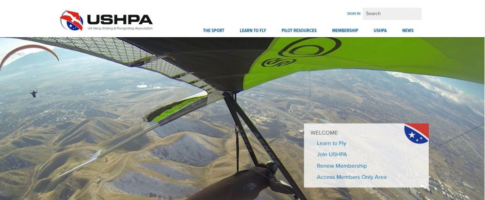 Paragliding and HangGliding  Association