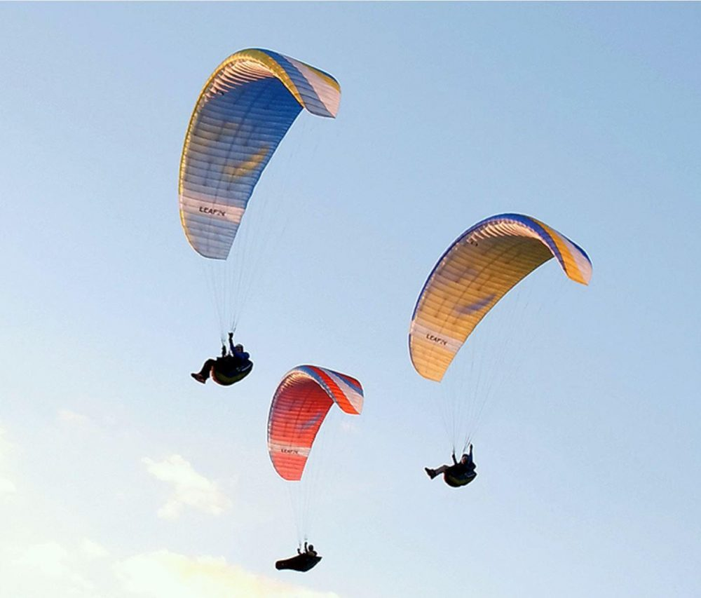 Getting ready for the paragliding season
