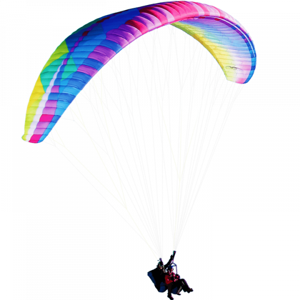 DUAL 2 TANDEM With effortless launching and a smooth, relaxed feel, the DUAL 2 performs in harmony with pilot and passenger