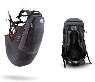 gin Verso 3 is a lightweight reversible airbag harness with a unique combination of features: a highly effective airbag with seat plate, underseat rescue and double-skin surface with innovative zipper system.
