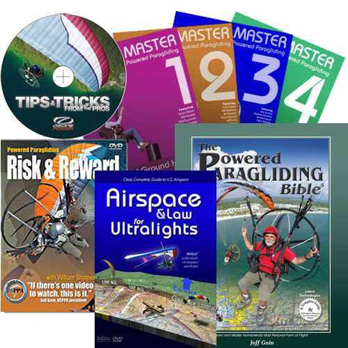 Paragliding Books and dvds