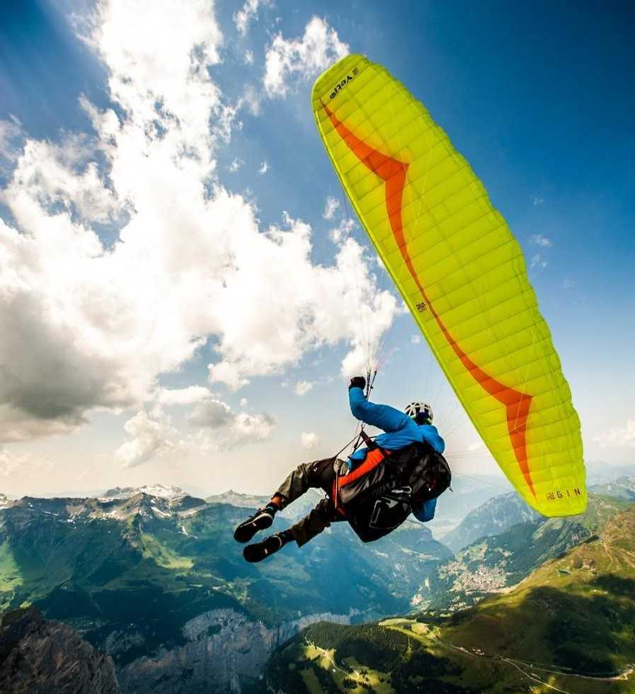 Paragliders brands ozone, supair, swing