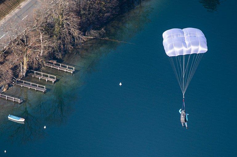 Gin Yeti UL Reserve Parachute https://paraglidingequipment.com